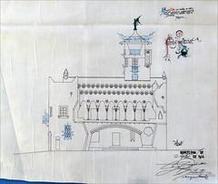 Le pavillon de la Catalogne (Biennale d'architecture 2014, Venise) (dalbera) Tags: venice italy italia venise venezia italie modernisme jujol casabofarull dalbera biennalearchitettura biennaledarchitecture pavillondelacatalogne