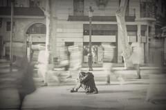 soledad desolada (ana pardos corrales) Tags: people alone sitting loneliness floor le soledad ramblas