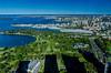 Sydney Botanical Gardens & Garden Island (nikabuz) Tags: architecture sydney australia nsw sydneyharbour sydneybotanicalgardens gardenislandnavaldockyard sydneyarchitecturefestival level61 sydneyopen2014