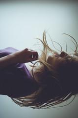 Back to nothing (Kaat dg) Tags: light portrait selfportrait hair nikon nikond5100