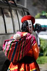 Peruvian mother (Mel@photo break) Tags: people woman color peru lady costume kid colorful child folk mother culture clothes mel tradition melinda motherhood peruvian ollantaytambo ollantaitambo  chanmelmel melindachan