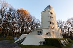Einsteinturm and the Wissenschaftspark (Potsdam) (Norte_it [Dario J Lagan]) Tags: park tower anniversary albert nazi einstein science erich observatory turm potsdam 1924 mendelson einsteinturm wissenschaftspark astrophysic