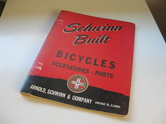 191948 Original Schwinn Parts and Accessories Catalog (DMichaelM) Tags: 1948 bicycles catalog schwinn