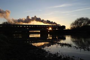 Steam on the Nene
