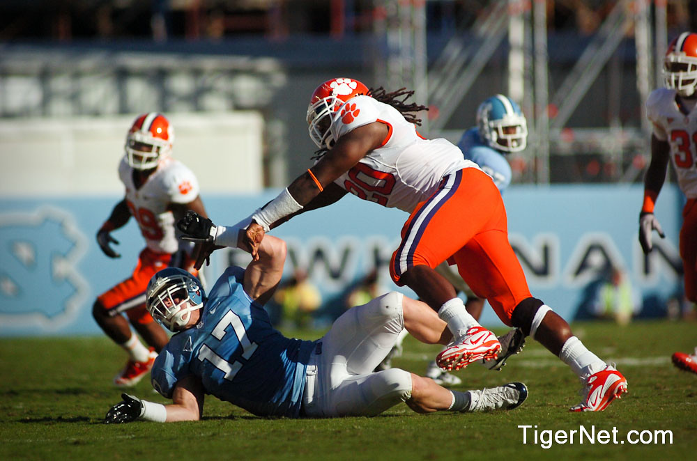 Clemson Photos: 2010, Brandon  Maye, Football, North  Carolina