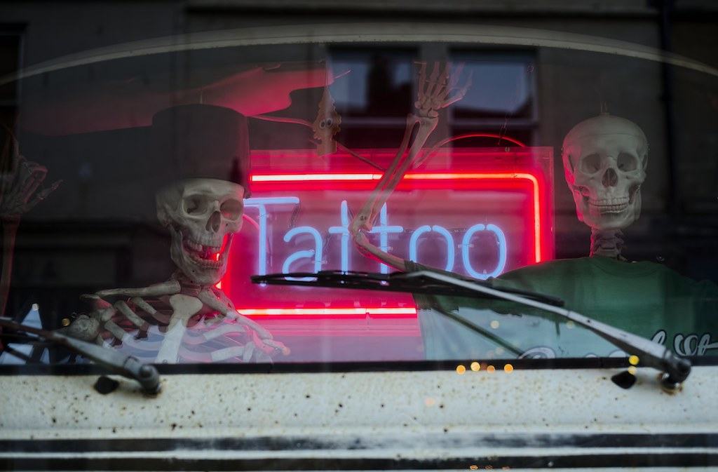 The World's Best Photos of signage and tattoo - Flickr