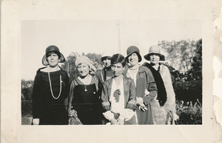 Photograph of Sir William Mulock garden party