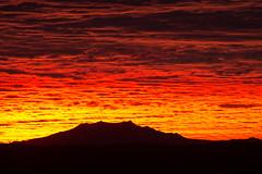 Sunrise Close Up (John Haggart) Tags: arizona sky southwest clouds sunrise globe dramatic az