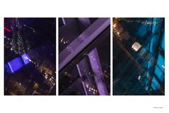 tryptichon (sleepfoto) Tags: reflection berlin night sight funkturm
