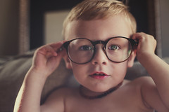 4-i's (bkiwik) Tags: boy newzealand portrait face look digital canon glasses kid eyes looking candid 4 young son portraiture nz stare specs dslr spectacles foureyes 4eyes eos6d