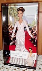2013 Jennifer Lopez Red Carpet Doll (1) (Paul BarbieTemptation) Tags: red black celebrity robert carpet doll jennifer label barbie best lopez 2013