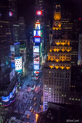 Time Square (Michael Juvet) Tags: new york city nyc ny night square time