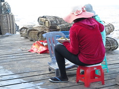 """Entre 2 pêches, une bonne assiette de riz <a style=""""margin-left:10px; font-size:0.8em;"""" href=""""http://www.flickr.com/photos/83080376@N03/15894094267/"""" target=""""_blank"""">@flickr</a>"""