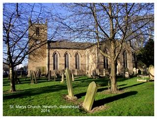 ST MARYS CHURCH HEWORTH 2014