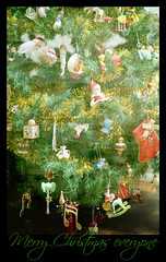 Merry Christmas to all my Flickr friends (crafty1tutu (Ann)) Tags: santa christmas tree decoration ornament happyholidays merrychristmas christmasday anncameron gettycontributor crafty1tutu picmonkey