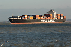 NYK Constellation (John Ambler) Tags: lines docks john photography for vessel container photographs maritime solent southampton heading constellation ambler nyk