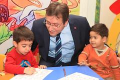 Başkan Demirci Çocuk Kulübünü Ziyaret Etti