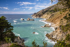 Big Sur Coast (Gadwall85) Tags: ocean california coast rocks pacific bigsur canon70d canonefs1855mmf3556isstm