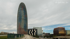Torre Agbar, Barcelona, Spain with Lumix GX7 and M.9-18mm