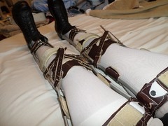 Brown Scott Craig KAFOs at an Angle (KAFOmaker) Tags: feet fetish boot foot legs braces boots leg strap cuff bound buckle brace straps cuffs appliance buckles appliances bracing restraint orthopedics kafo orthopedic cuffed strapped buckling braced strapping buckled bondagee restyrain