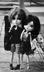 Greg & Soph ♥ (Dekki) Tags: fashion asian eos doll sophie cm planning batman groove pullip gregory 27 limited edition jun steampunk obitsu junplanning taeyang rewigged rechipped sbhm
