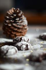 chocolate crinkle cookies (g2graphics) Tags: xmas cookie chocolate crinkle
