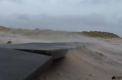 Zandstralen. (Romar Keijser) Tags: storm strand nederland noordzee 15 zee 12 texel januari noord paal 2015 westerslag