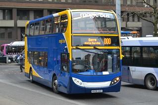 Stagecoach Magc Bus AD Enviro 400 19232 MX08GKO - Manchester