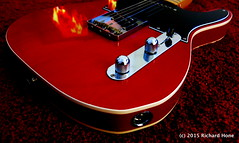 13th Jan: Red 2 - Oh! Give me the beat boy, and free my soul... (Richard Hone) Tags: red crimson fender tele day13 redcarpet telecaster fendertelecaster driftaway fendertele mentorwilliams redrug dobiegray day13365 jdtele 365the2015edition 3652015 13jan15 translucentcrimson jerrydonahuetele jerrydonahuefendertelecaster
