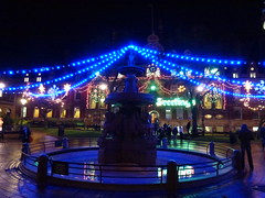 Christmas time Leicester 2014 Night (KiranParmar) Tags: christmas night lights town hall december leicester sqaure 2014