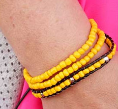 Sunset Sighting Yellow Bracelet K2 P9441-1