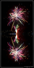 a year in reflection (TLP images) Tags: reflection fireworks sydnye sydneyharbour timlashbrookphotography facebookcomimagestlp imagesbytlp sydneynye2014