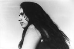 Enojada (Fernanda Neira) Tags: old bw woman white black girl vintage hair angry