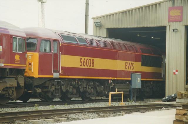 English Welsh & Scottish Railways Class 56, 56038