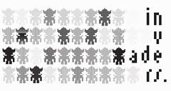invaders (struktur design) Tags: white illustration logo design graphics graphic data designs illustrator noise infographie glitch visuel graphisme minimalisme graphiste