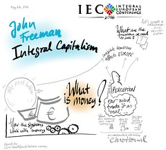 Visual: John Freeman - Integral Capitalism - Teal Track at IEC Conference May 2016 (visualfacilitators) Tags: europe teal integral capitalism visualization iec procreate johnfreeman graphicrecording visualfacilitators visfacs reinventingorganisations integraleuropeanconference