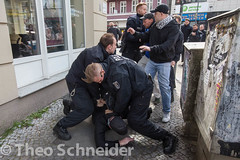 Proteste am Nakba-Tag fr Israel und Palstina in Berlin Neuklln (Theo Schneider) Tags: berlin protest demonstration polizei palstina neuklln gewalt nakba festnahme bereitschaftspolizei karlmarxplatz gegenisrael nakbatag