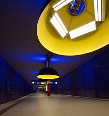 Purple (Pamela Marklew) Tags: underground subway munich mnchen ubahn westfriedhof