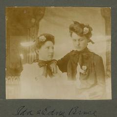 Ida & Edna Bruce (sctatepdx) Tags: portrait victorian victorianwomen antiqueportrait victorianclothes idabruce ednabruce
