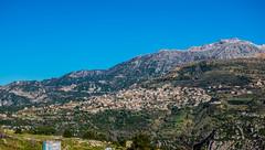 Kartaba From Aboud, Lebanon (Paul Saad (( ON/OFF ))) Tags: sky lebanon mountain nikon village pano panoramic   kartaba