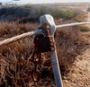 Busted chain (Anika Malone) Tags: ocean beach pacific malibu leocarrillostatebeach
