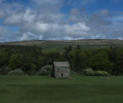 field barn near Holwick (dean.clementson) Tags: clouds cloudscapes teesdale
