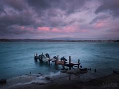 Old Fashioned Little Pier (Lightning diciotto) Tags: lago di bolsena capodimonte lakebolsena bellitalia