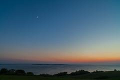 Moon (Jakob Arnholtz) Tags: sunset sun nature weather natur setting solnedgang sejr vejr settingsunsunset odsherred arnholtz