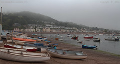 A dull old day (Ollie_57.. on/off) Tags: uk england building beach water june misty canon landscape boats spring sand devon 7d dull teignmouth 2016 shaldon ef24105mm ollie57 saariysqualitypictures affinityphoto