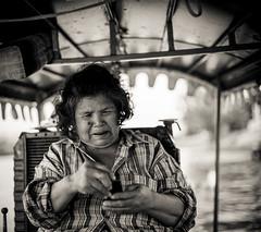 Thailand - Texting (Cyrielle Beaubois) Tags: old portrait woman thailand asia thalande thai asie southeast 2015 canoneos5dmarkii cyriellebeaubois