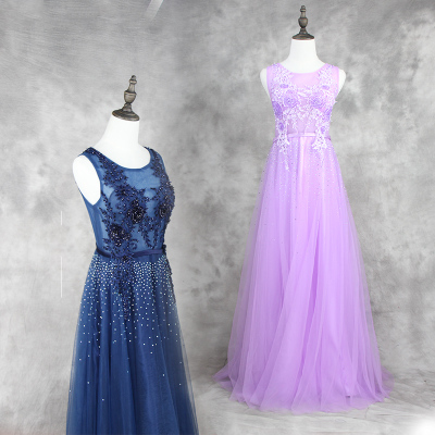 Frühling und Sommer Mode neue 2016 Bankett Abendkleid Korea
