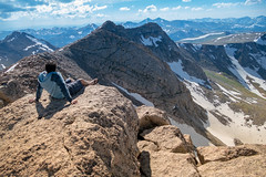 Some Days, We Just Need to Sit Back and Breathe (thecheetahexpress) Tags: mountain mountains relax landscape evans colorado skies mt outdoor air rocky denver fresh edge breathe chill