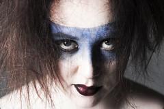 Hannah (Ollie Morris) Tags: portrait hair studio model photoshoot fierce makeup tribal madness angry warrior femalemodel mad crazyhair profoto leadbetter74 olliemorris canon5dmkiii