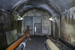 Gonzen Mine - Wolfsloch Tunnel (Kecko) Tags: underground geotagged army schweiz switzerland europe mine suisse swiss eingang military kecko ostschweiz tunnel doorway sg svizzera armee militr stollen 2016 militaer sargans bergwerk vild gonzen trbbach swissphoto wartau wolfsloch geo:lat=47077730 geo:lon=9463440 gonzenbergwerk